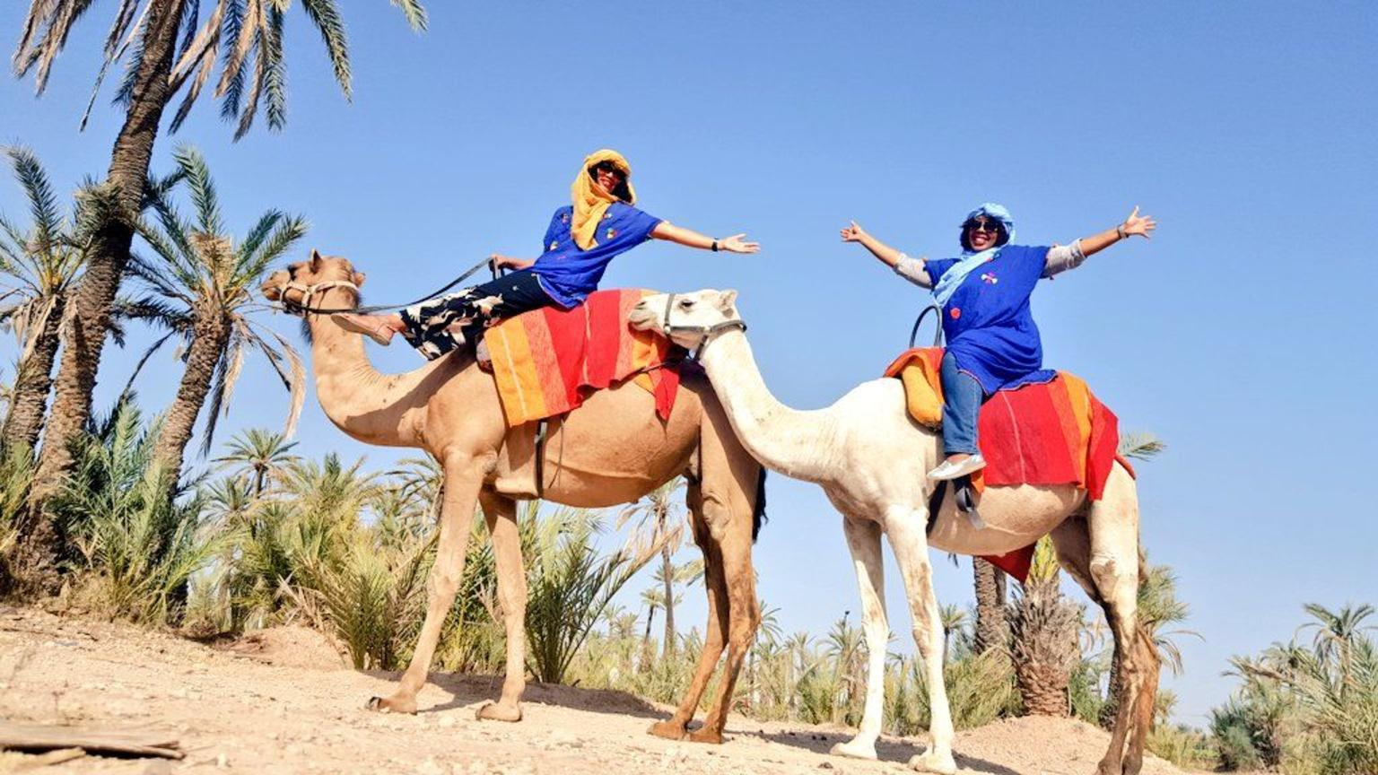 Marrakech: La Ciudad de las Mil y una Noches Incluido Ruta de Camello y Mercado
