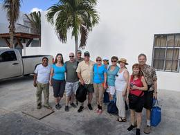Juan Carlos on the left and our group missing 2 , Paul D - December 2017