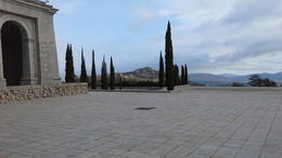 From the church, across the rest of the memorial, to Guadarrama mts beyond , Neil F - January 2018