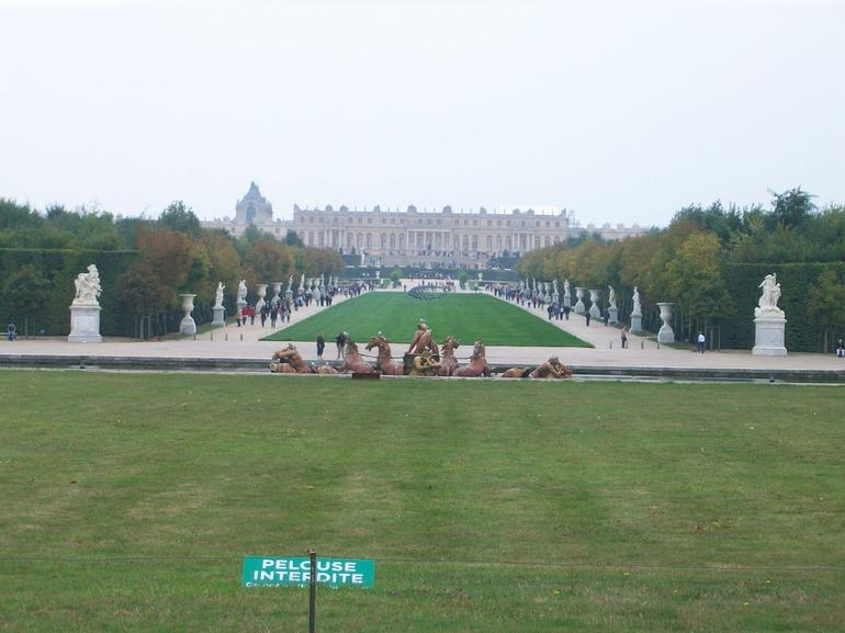 A view of the Palace - Paris