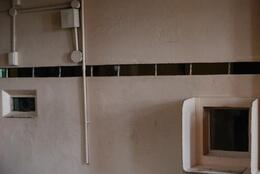 Tiny windows to view visitors through, Sam B! - April 2014