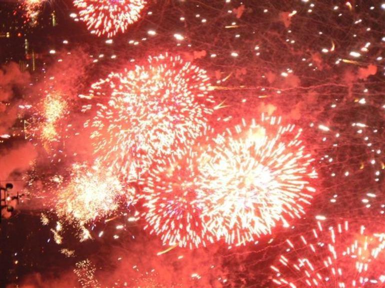 Amazing fireworks - New York City