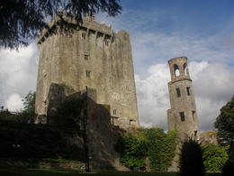 Looking up at Blarney Castle , Samuel B - September 2013