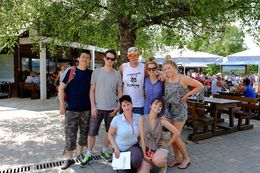 Group photo with lovely Tamara in Plitvice Lakes National Park. , ufpakurt - August 2015