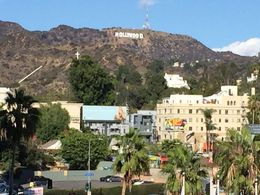 view from Hollywood Boulevard , Richard L - December 2015