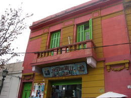 Another colorful house in La Boca., Bandit - June 2012