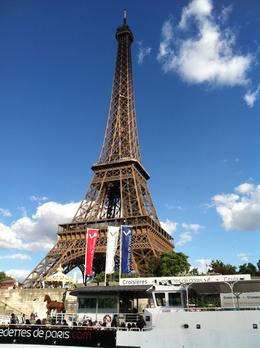 Eiffel Tower shot from the boat tour. , Dale S - May 2011