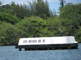 USS Arizona Memorial from the tour boat. , MamaLindaC - September 2012