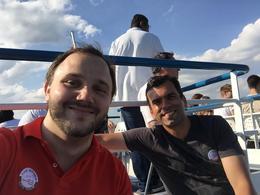 on the boat, Dario M - November 2016