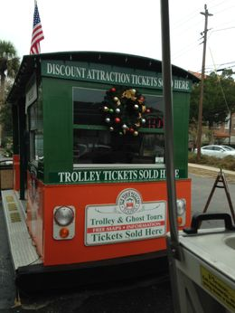 St Augustine Hop-On Hop-Off Trolley Tour - December 2014