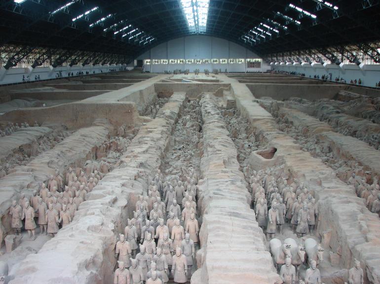 Inside the Museum - Xian