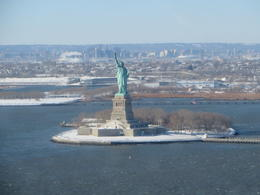 Lady Liberty vanuit de heli , Gerarda - January 2014