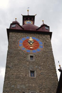 The clock tower, Trevor M - July 2009