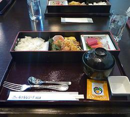Japanese set meal, Robert F - May 2010