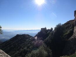 Enjoying a hike above the Monastery , PJ - November 2015