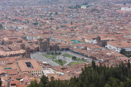Main plaza of Cusco, Bandit - December 2016