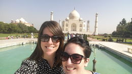 Selfie at Taj , Katie M - September 2015