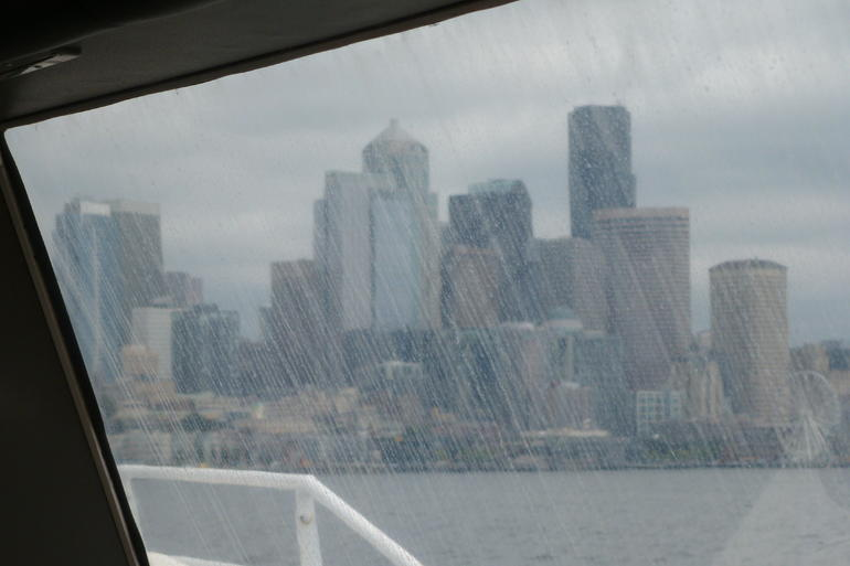 Skyline von Seattle - Victoria