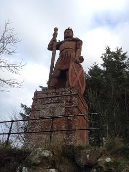 Statue of William Wallace , uayvaz - December 2013