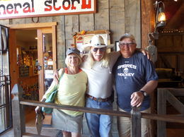 Donna, Cowboy Jack, n Me , Michael D - October 2015