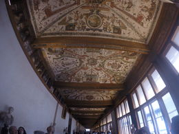 Beautiful frescos all over the ceiling , Vikram C - May 2015