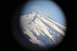 Captured this shot through a telescope at the top of a cable car ride. - June 2010