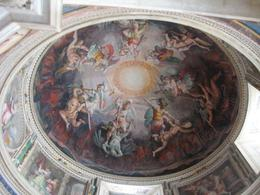 Lovely ceiling in Vatican Museum., Donald P - September 2008