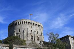 Windsor Castle, the Queen was in residence on our visit., Corina P - April 2009
