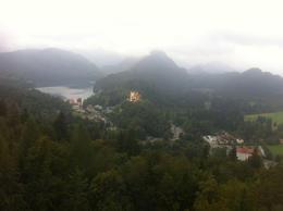 The view from Neuschwanstein's balcony was incredible , mrosenki - November 2016