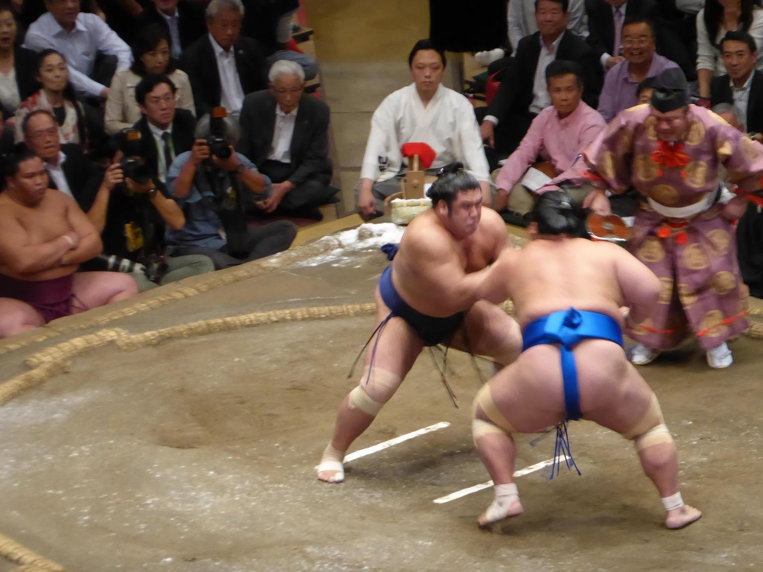 MÁS FOTOS, Torneo de lucha sumo en Tokio