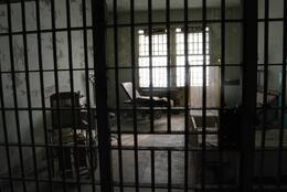 Infirmary does not look any better than the cells, Sam B! - April 2014