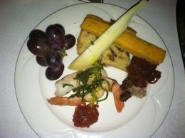 Appetizer plate - yum!, taylor - April 2013