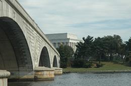 This spectacular view of the Lincoln Memorial, just as the Odyssey is about to go under the Arlington Memorial Bridge, is one of the many fabulous locations you can photograph from your Viator cruise ... , Sergio M - November 2009