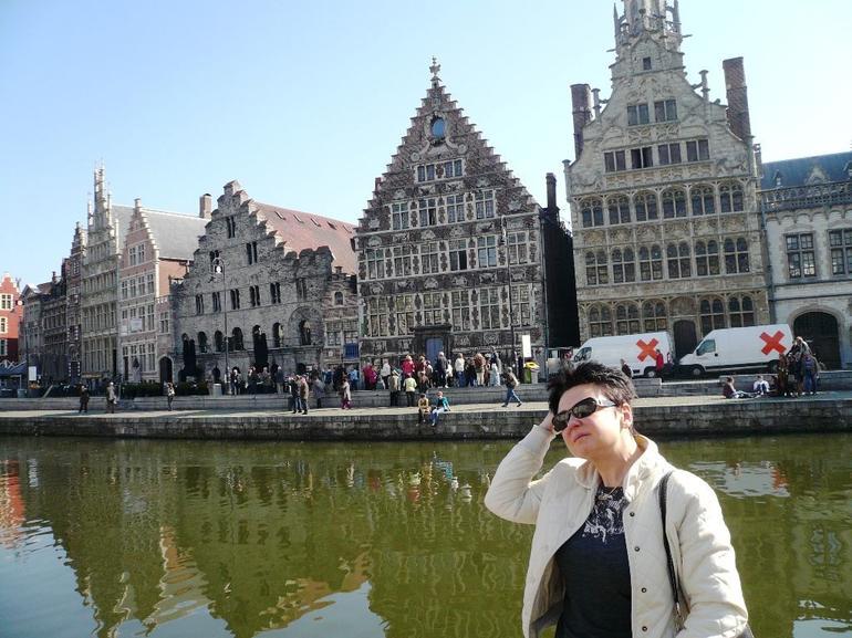Brugge Canal, Belgium, March 2012 - Brussels