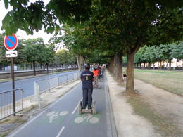 Driving along the gardens , dizzledorf - August 2012