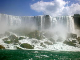 View from maid of the mist tour , Geraldine T - September 2012