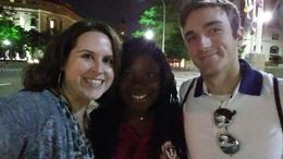 Selfie with Linda our tour guide at the end of the night , Ryan B - June 2015