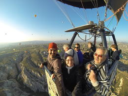 Floating in the air above Cappadocia, Patricia P - July 2014