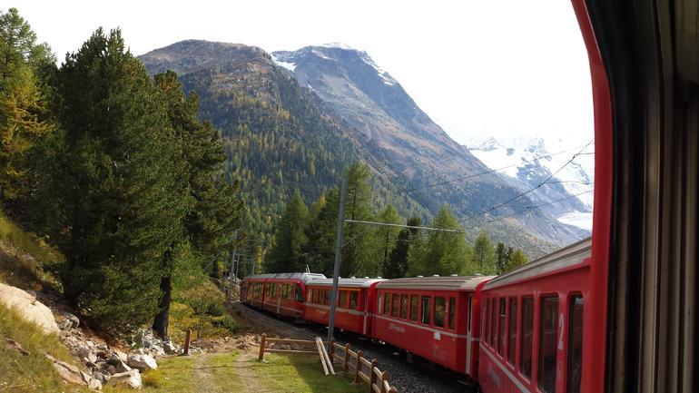 Fantastic trip to St Moritz - Milan