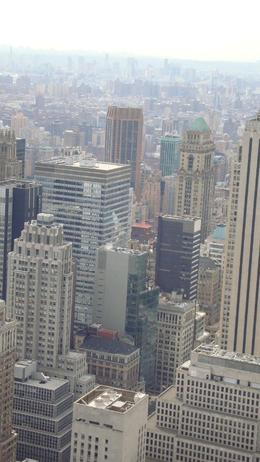 Taken from Top of the Rock, Corinne T - November 2009