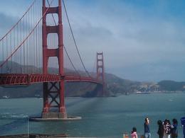 30 min Golden Gate Bridge stop , Beena S - August 2012