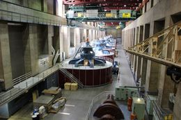 Hoover Dam Generators , fresendiz - December 2015