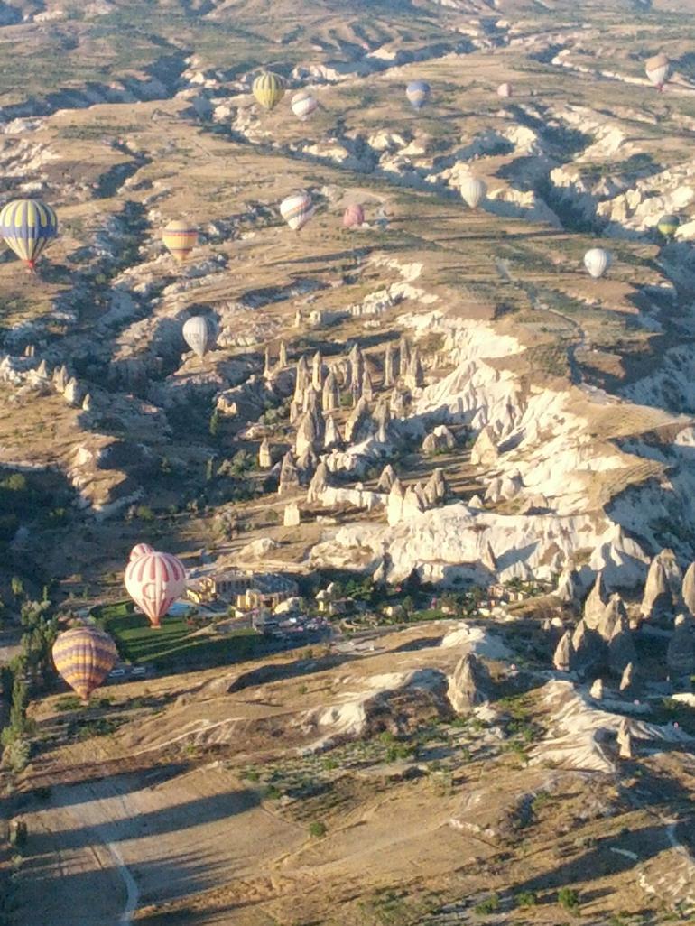 Hot air balloons in Cappadocia - Cappadocia
