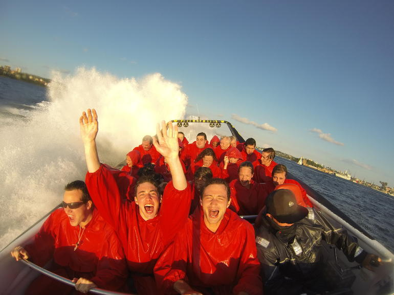 Jet Boat Thrill Ride - Sydney