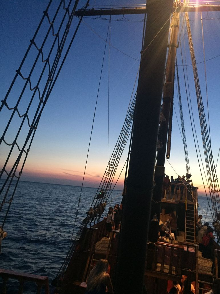 Unique Sunset and Dinner Cruise in the Magnificent Traditional Karaka boat