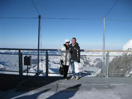 This is at the very top of Jungfraujoch, overlooking the Swiss alps at -12c., Belinda M - January 2009