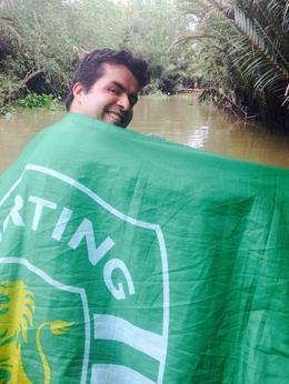 Sporting Clube de Portugal in Mekong Delta , Nuno C - December 2014