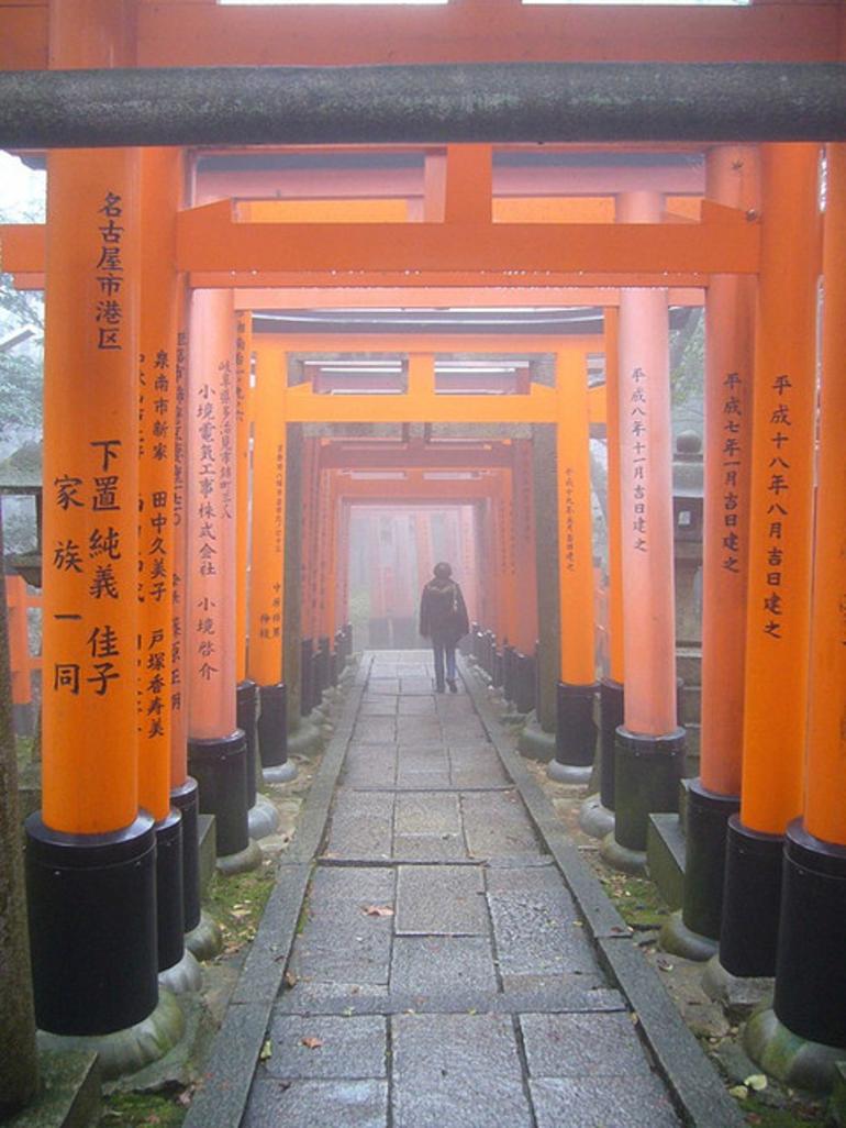 Misty Torii at Inari - Kyoto