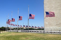 Washington Monument, Jules & Brock - August 2012
