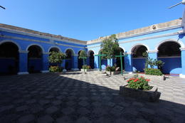 One of the main plazas inside the monastery, Bandit - July 2014